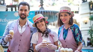 День мороженого в ГУМе