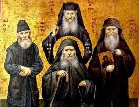 Афонские старцы поделились м…