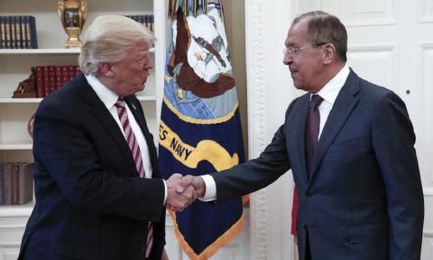 Пока Трамп общался с Лавровым, Климкин покорно ждал аудиенции в коридоре