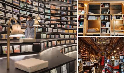 17 книжных магазинов из разн…