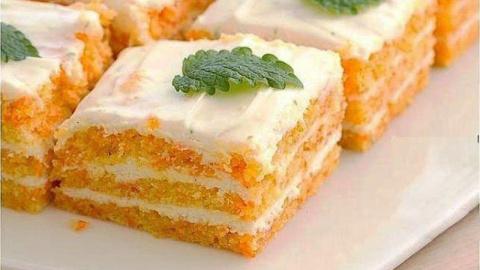 Вкуснейший морковный торт. Ем сколько влезет, а талия как у балерины!