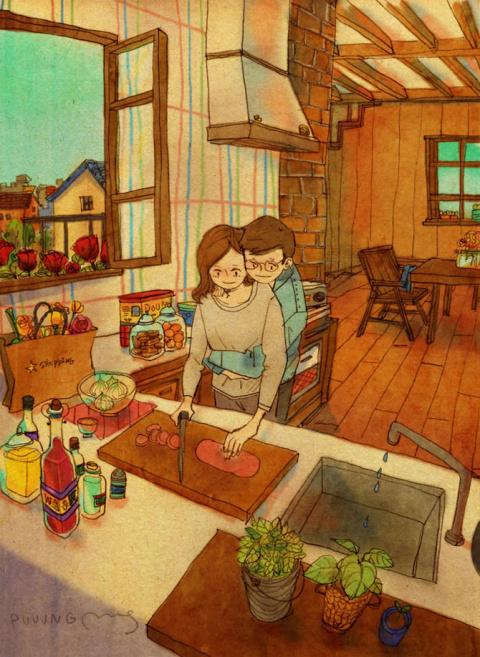 Любовь – это… или иллюстрации о любви в мелочах