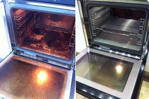 Как почистить духовку от жир…