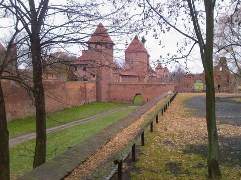 Оплот Тевтонского Ордена - замок Мальборк | ПО
