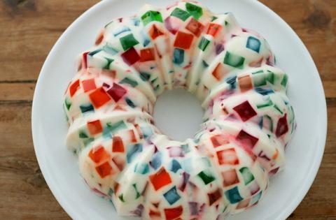 Творожный торт с желатином. …
