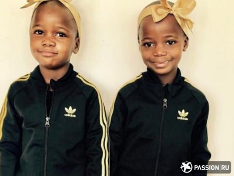 Дочери-близняшки Мадонны покорили сердца ее поклонников