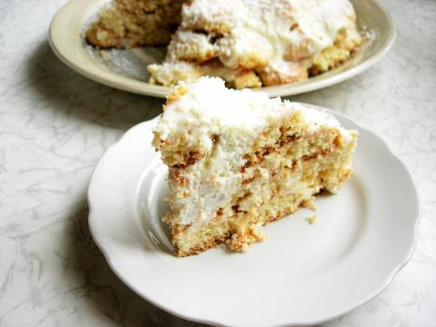 """Торт """"Снежная горка"""""""