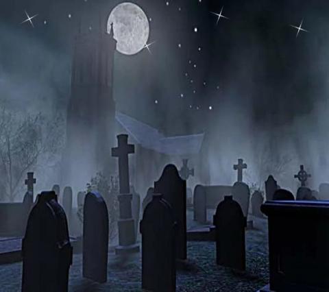 Путь через кладбище