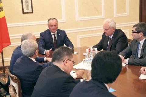 Президент Молдавии: Парламен…