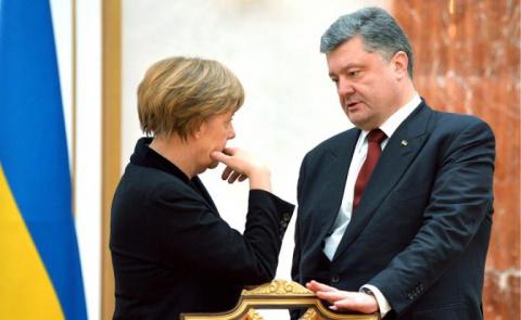 Нормандский провал: Меркель и Порошенко пугает реакция Вашингтона