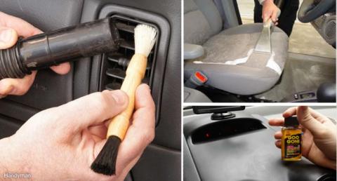 20 гениальнейших хаков для уборки в машине!