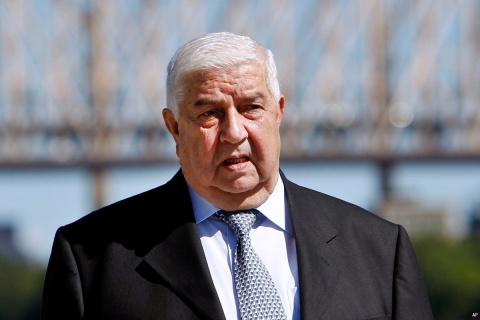 Глава МИД Сирии опроверг фей…