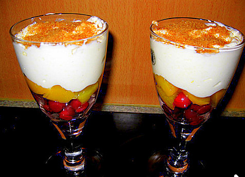 Десерт быстрый не дорогой,но вкусный! Фото-рецепт. Olga Dell