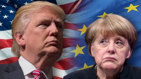 США вводят санкции против Европы. Александр Носович