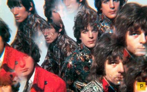 Легендарная рок-группа Pink Floyd в фотографиях