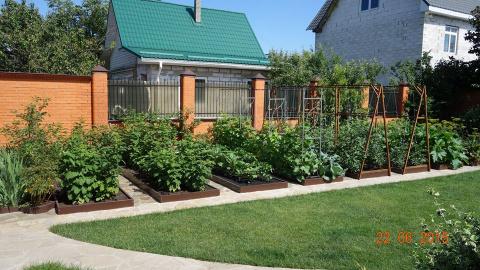 Как сделать идеальный огород своими руками - фото, примеры и советы