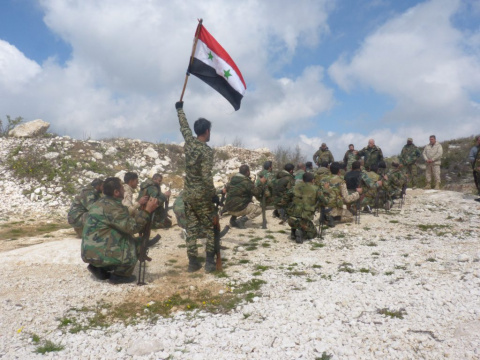 В сирийском Акербате заверши…
