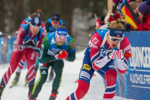 Норвежец Йоханнес Бе выиграл масс-старт на Кубке мира по биатлону в Рупольдинге