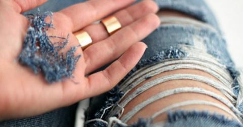 Как сделать стильные рваные джинсы своими руками