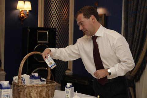 Медведев: на моем новогоднем…