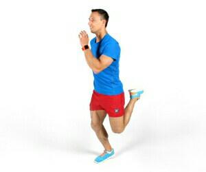 Используем бег на месте для похудения дома