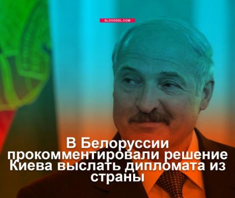 В Белоруссии прокомментировали решение Киева выслать дипломата из страны