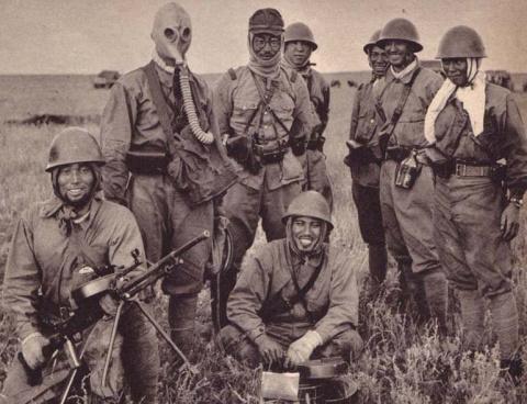 Сражение на Халхин-Голе в японских фотографиях