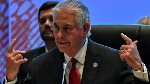 Тиллерсон: США к 1 сентября ответят на сокращение своей дипмиссии в Росси