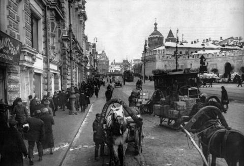 Москва глазами «дяди Гиляя»