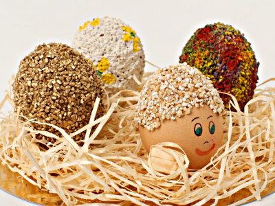 Пасхальные яйца. Готовимся к Пасхе вместе с детьми