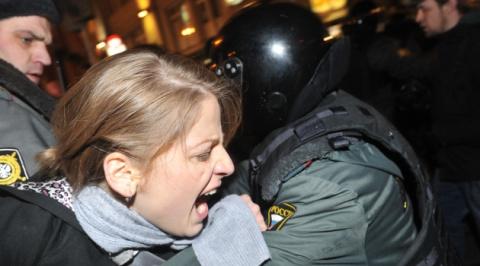 Число задержанных на акции против коррупции в Москве увеличилось до 800