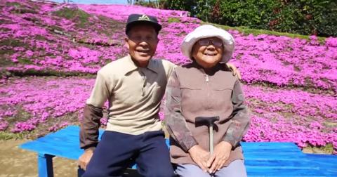 Любящий муж два года сажал цветы, чтобы его незрячая жена могла насладиться их ароматом