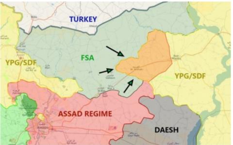 Оккупационные войска Турции …