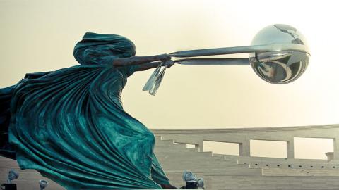 Необычные современные скульп…