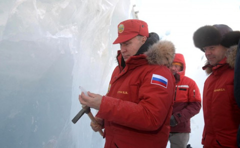 Путин: РФ готова к освоению Арктики с инвесторами