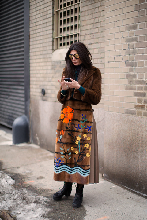 On the Street…Giovanna, New York