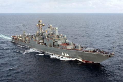 Российский «Адмирал Кулаков»…