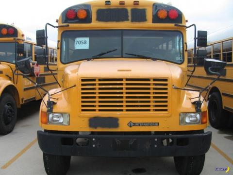 Школьный автобус стал домом …