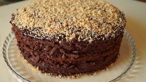 Шоколадно-ореховый торт   Не…