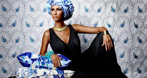 Иман: африканская королева