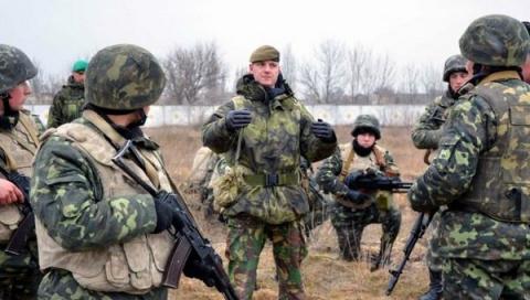 Украинских «морпехов» отправ…