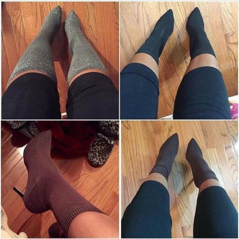 Носки поверх каблуков: новый…