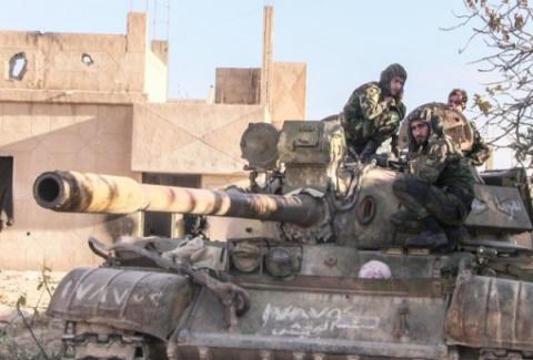 Армия Сирии и ВКС РФ освобож…