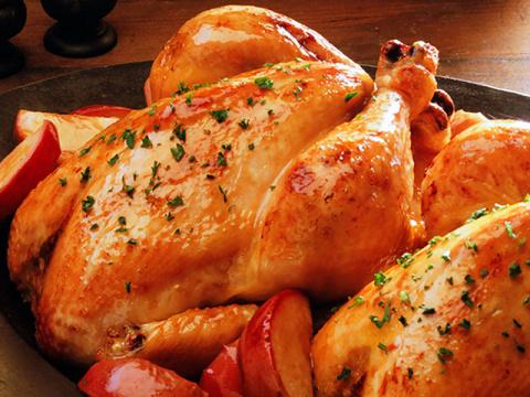 Курица с хрустящей корочкой,…