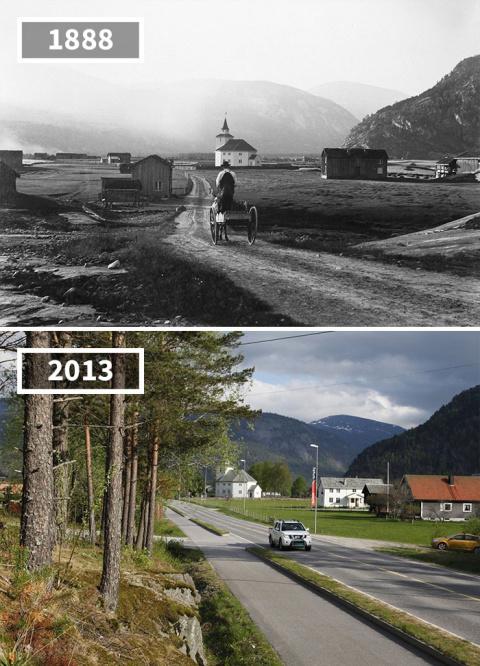 10 фотографий До и После, ко…