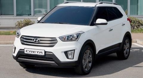Hyundai Creta оказался лидером продаж на рынке SUV Москвы