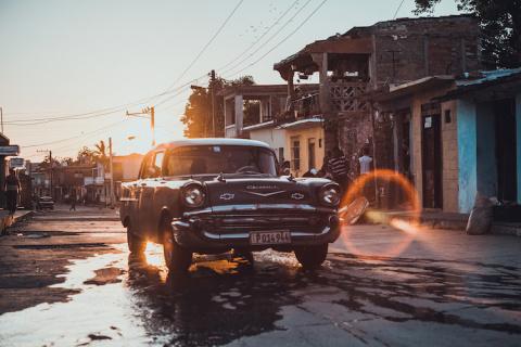 Колоритная Куба в фотографиях Stijn Hoekstra