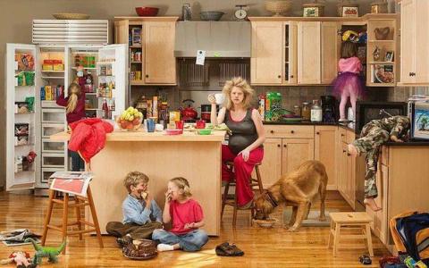 Вообще, быть домохозяйкой ле…