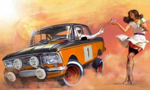 Такими советские автомобили …
