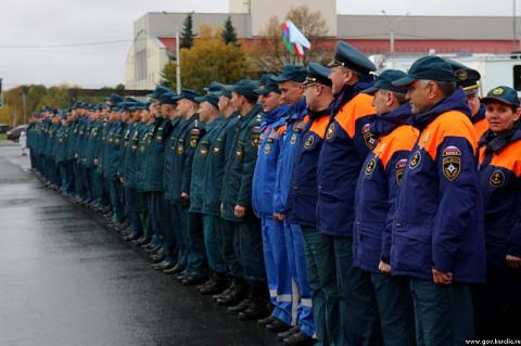 В Петрозаводске отпраздновали юбилей Гражданской обороны России